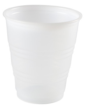 5 Oz Drinking Cup, Plastic, Clear 100/Tube