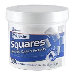 "Spenco® 2nd Skin® 1"" Square, Non-Sterile Pads 200/Jar"