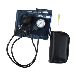 Caliber Adjustable Aneroid Sphygmomanometer - Adult Only