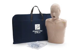 Prestan Child Manikin w/CPR Rate Monitor and Carrying Case
