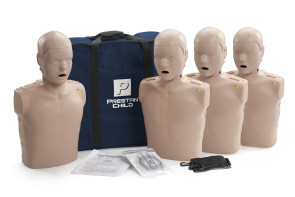 Prestan Child Manikin with CPR Rate Monitor 4-Pack