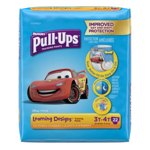 Huggies Pull Ups for Boys, 3T-4T, 22/Pack