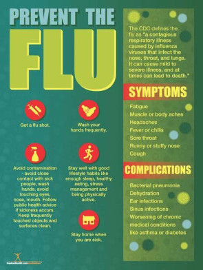 Flu Prevention Poster