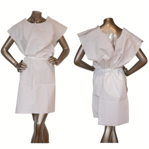 "30"" x 42"" Disposable Paper Gown, Individual"