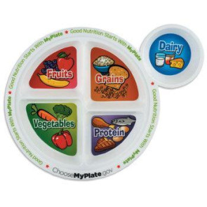 Child's Portion Meal Plate