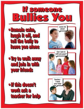 If Someone Bullies You Poster