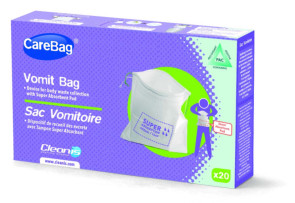 Cleanis Vomit Bags, 20/Box