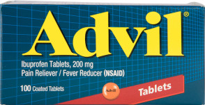 Advil Tablets 200 mg, 100/Bottle