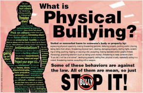 Physical Bullying Poster