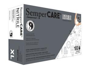 Economy Nitrile Powder Free Gloves, X-Large, 100/Box