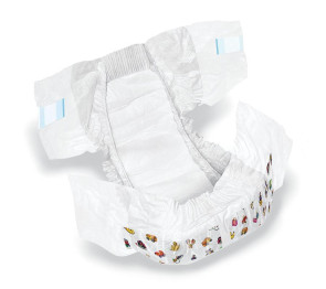 Economy Diapers, Size 6, 25 per pack