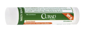 Curad Lip Balm, Mint Flavored