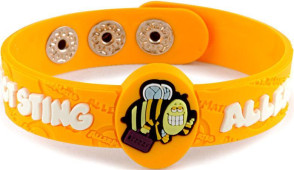 """Bizzzy"" Insect Sting Allergy Wristband"