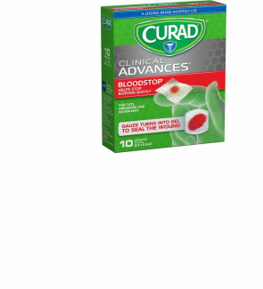 Curad Blood Stop, 10/Pack