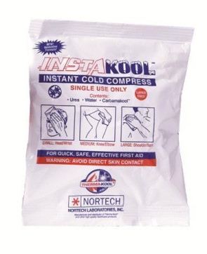 "InstaKool Instant 4"" x 6"" Cold Packs, 80/Case"