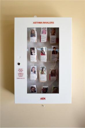 AEK Inhaler Storage Cabinet