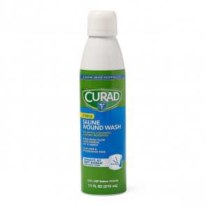 Curad Saline Wound Wash, 7.1 Oz