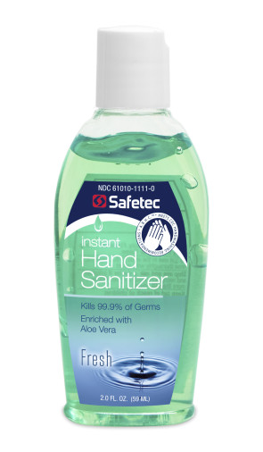 Economy Hand Sanitizer Gel, 2 Oz Bottle