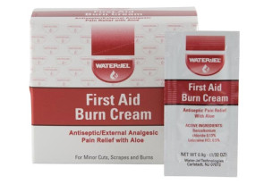 First Aid Cream w/Aloe Vera, 25 Foil Packs/Box