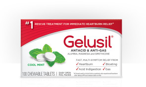 Gelusil Tablets, 100/Bottle