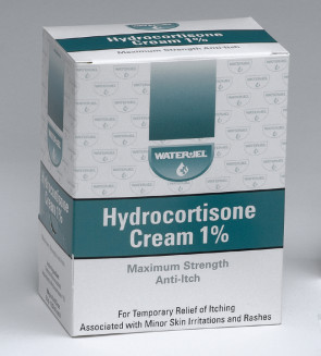Hydrocortisone Anti-Itch Cream 1% Foil Packs, 144 Per Box