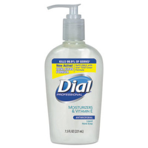 Dial® Liquid Soap with Vitamin E, 7.5 Oz. Pump