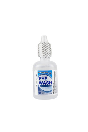 Irrigate Eye Wash, 1 Oz Screw Off Bottle