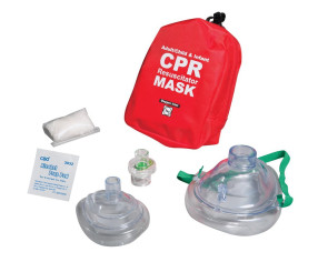 Adult/Child/Infant CPR Mask System