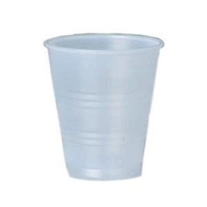 5 Oz Clear Plastic Drinking Cups, 2500/Case