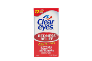Clear Eyes® Redness Relief Eye Drops, 1 Oz Bottle