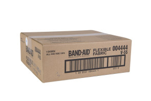 "J&J 1"" x 3"" Flexible Fabric Bandages, 12 Boxes/Case"