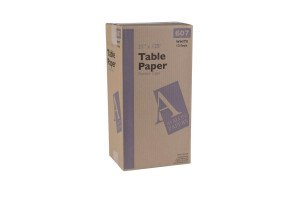 """Table Paper Crepe 21"""" x 125' Case of 12 Rolls"""