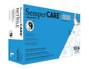 Large Economy Nitrile Powder Free Gloves, 10 Boxes/Case