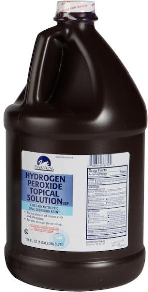 Hydrogen Peroxide, Gallon