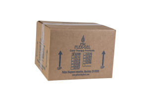 "3"" x 5"" Blue Ice Flex Gel Packs, 120/Case"