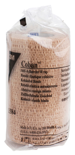 "Coban 4"" x 5 Yds Self-Adherent Wrap"