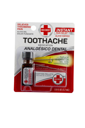 Red Cross Complete Toothache Kit