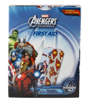 """Avengers Bandages, 3/4"""" x 3"""", 100/Box"""