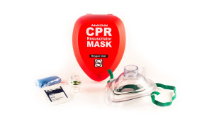Adult/Child CPR Mask System, Hard Case