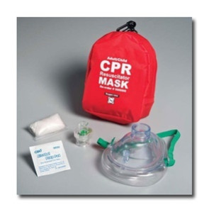 Adult/Child CPR Mask System, Soft Case