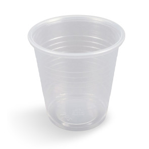 Economy Clear 3 Oz Plastic Cups, 100 per Sleeve