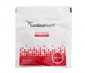 "Cardinal Health 6"" x 6-1/2"" Instant Hot Packs, 40/Case"