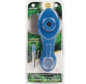 Lighted Lice Comb Kit