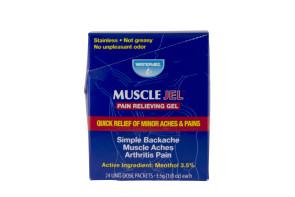 WaterJel® Muscle Jel® 3.5 Gram Packs, 24/Box