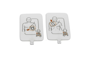 Prestan® AED UltraTrainer™ Adult/Child Training Pads, 2/Set
