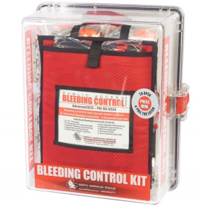 Public Access Bleeding Control Station, Advanced BCD, 8 Kits