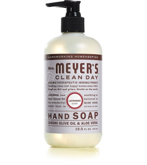 Mrs. Meyer's Clean Day Liquid Hand Soap, 12.5 Oz, Lavender
