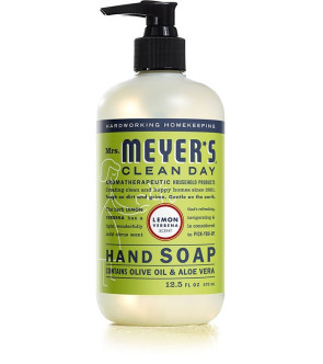 Mrs. Meyer's Clean Day Liquid Hand Soap, 12.5 Oz, Lemon