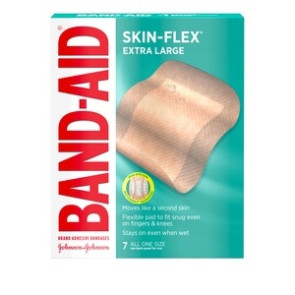Band-Aid® Brand Skin-Flex Bandages, 7 per Box