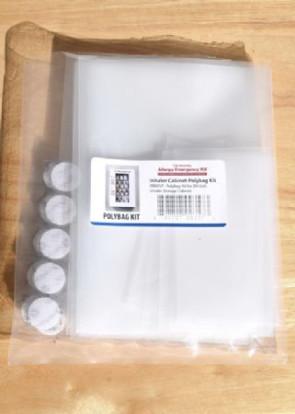AEK 20-Unit Inhaler Polybag/Velcro Refill Kit, 30/Pack